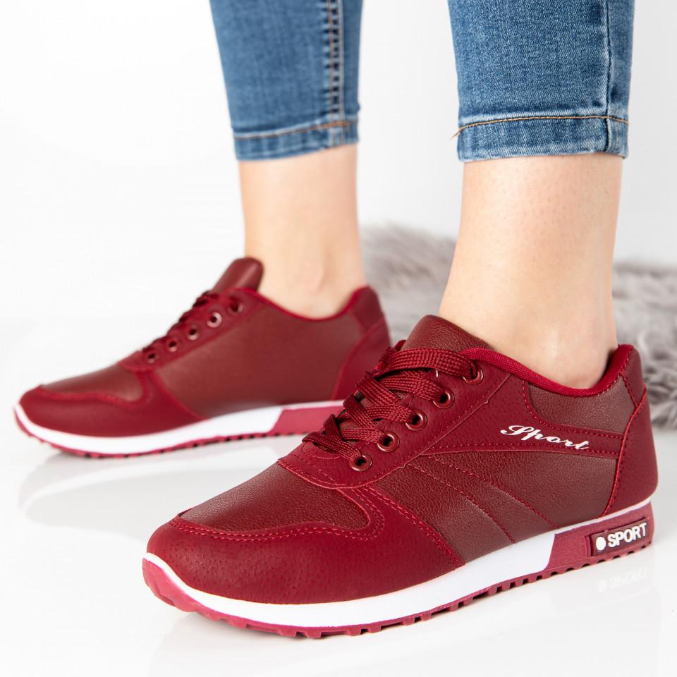 "Pantofi Sport ""MireaFashion"" Cod: 827-3 RED (Q 05)"