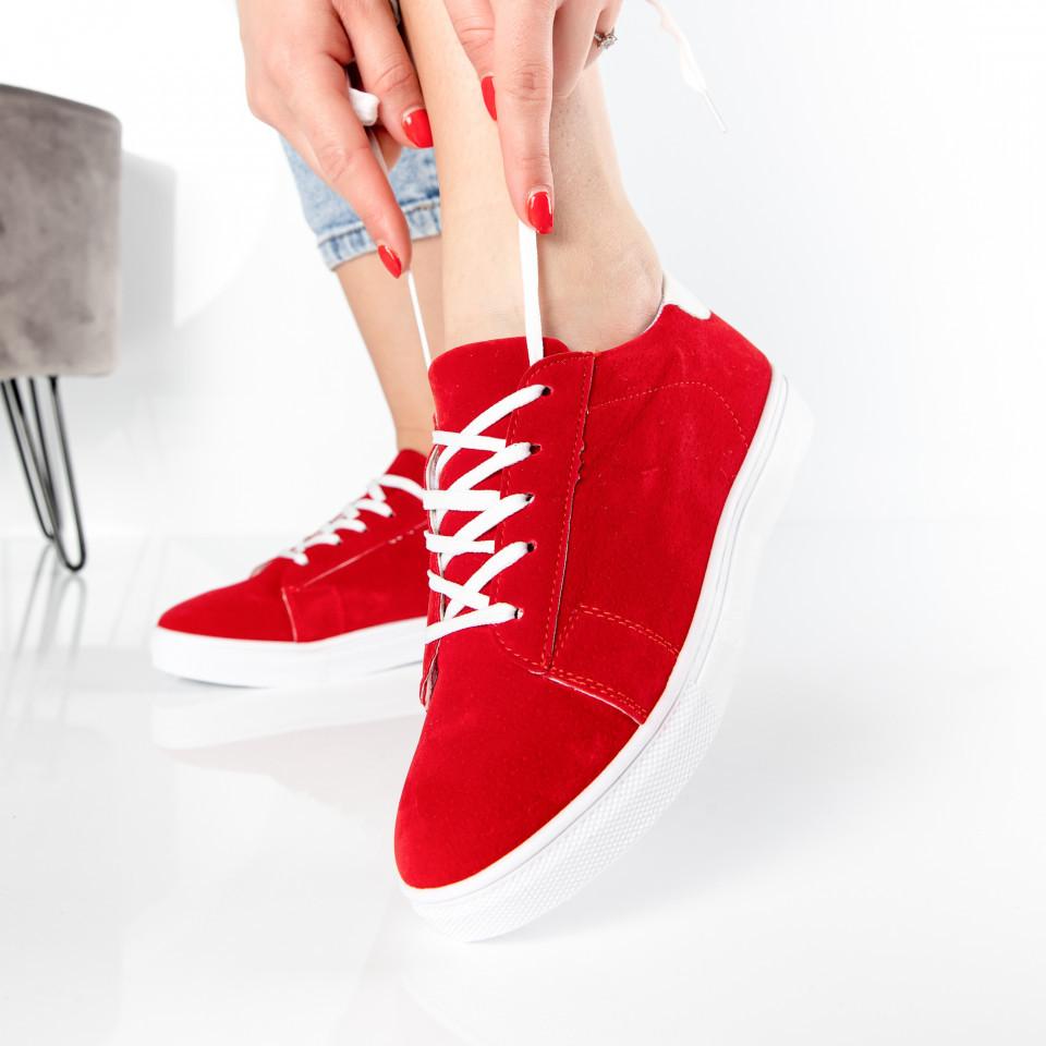 "Pantofi Sport ""MireaFashion"" Cod: 98-1 RED (M04)"