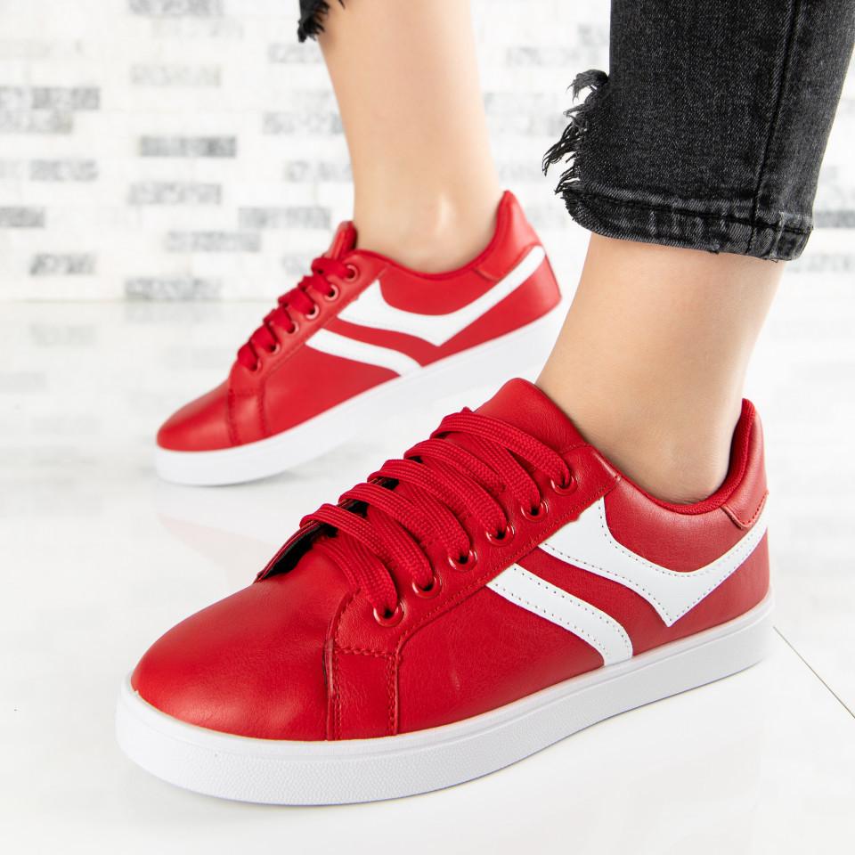 "Pantofi Sport ""MireaFashion"" Cod: A1811-5 RED (B013)"