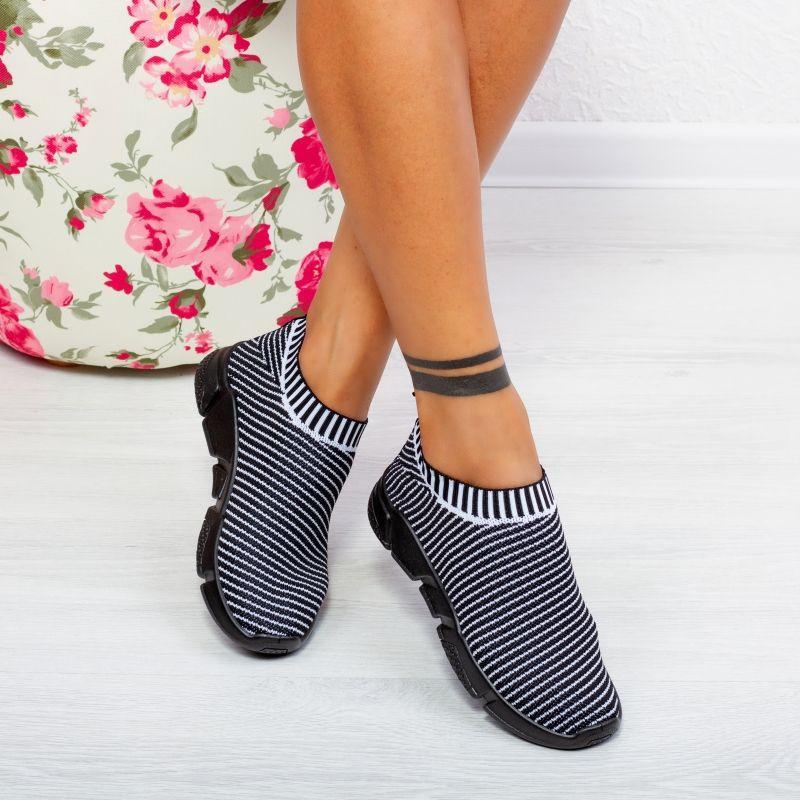 "Pantofi Sport ""MireaFashion"" Cod: C3847 BLACK (T05)"