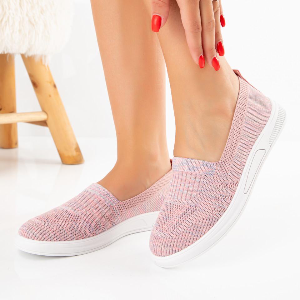 "Pantofi Sport ""MireaFashion"" Cod: H60-2 PINK (H06)"