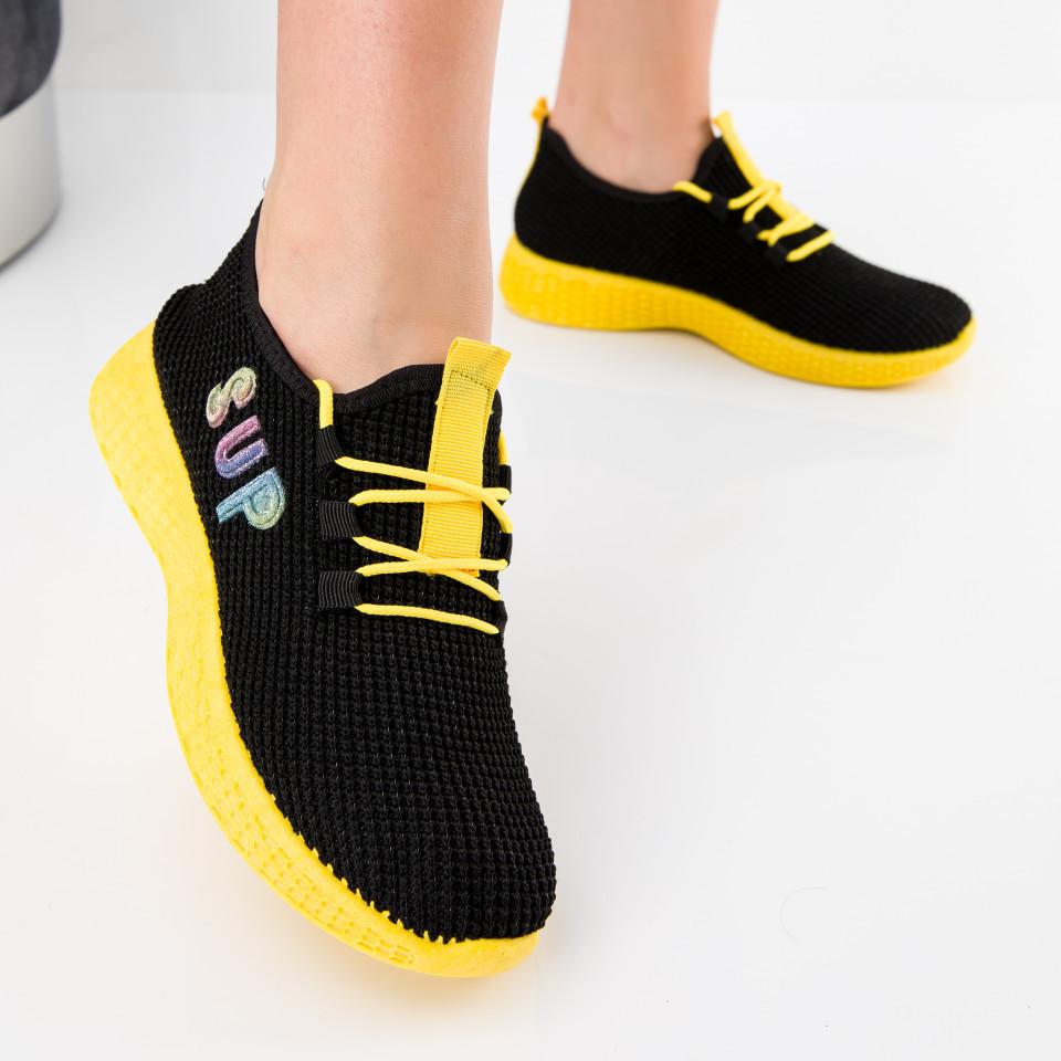 "Pantofi sport ""MireaFashion"" Cod: HQ-36-172 BLACK (M06)"