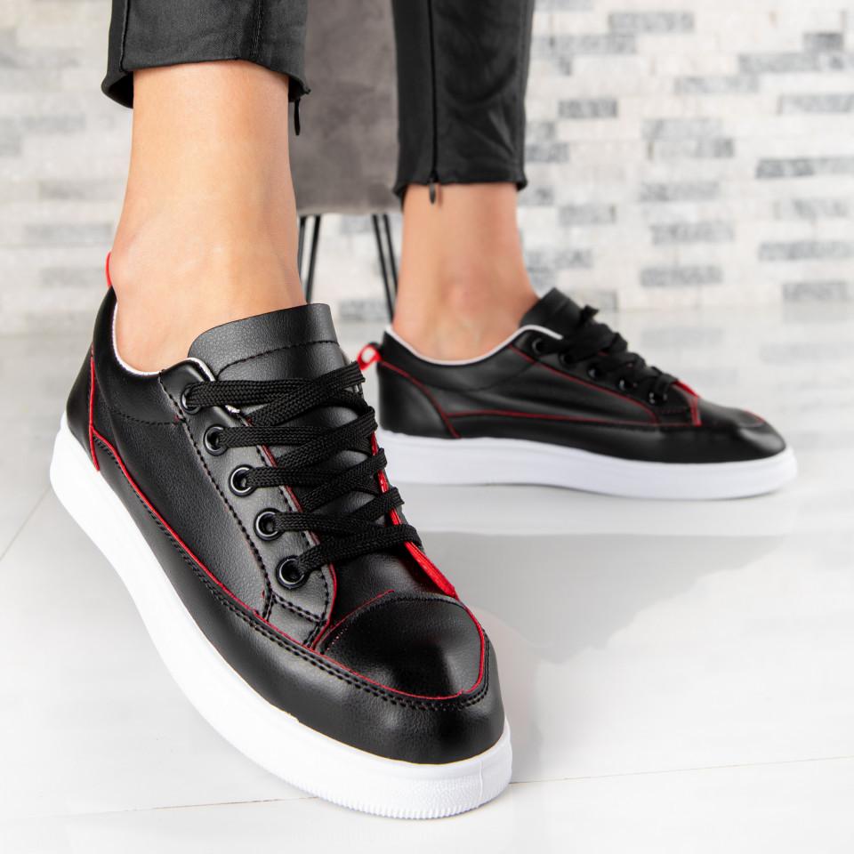 "Pantofi Sport ""MireaFashion"" Cod: TS512 BLACK (O 011)"