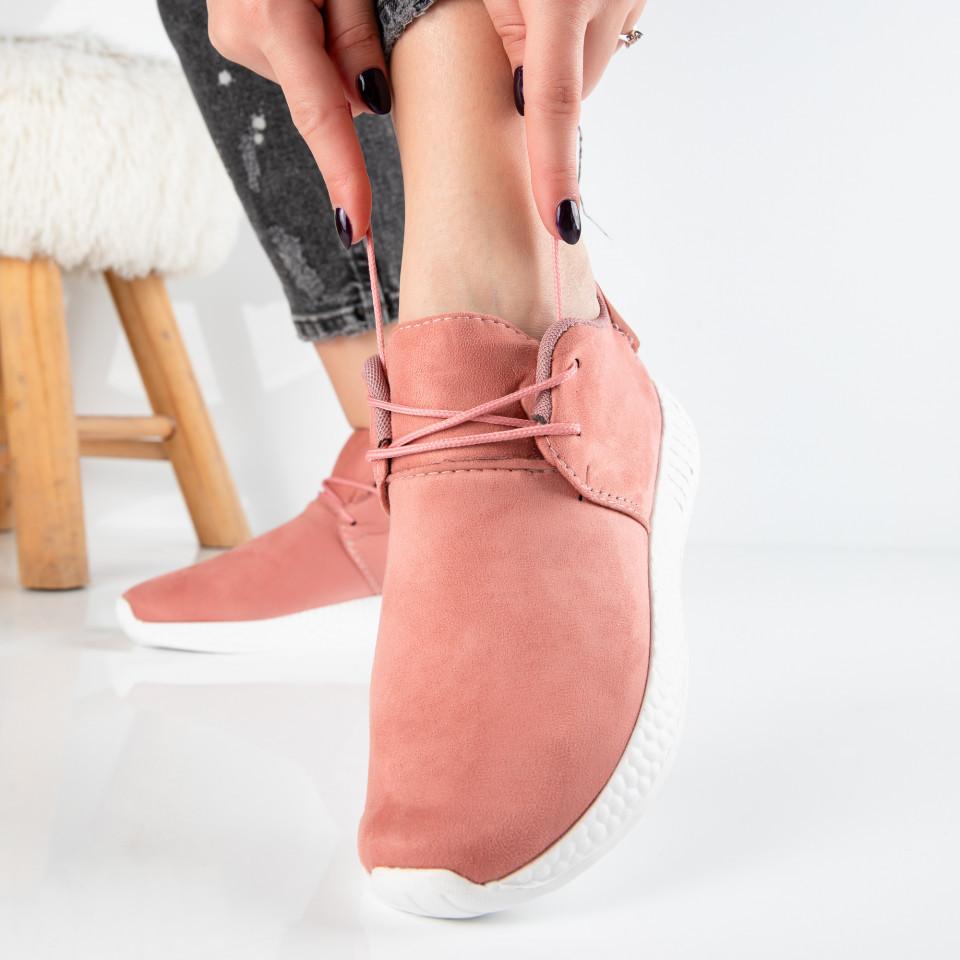 "Pantofi Sport ""MireaFashion"" Cod: W818 PINK (N04)"