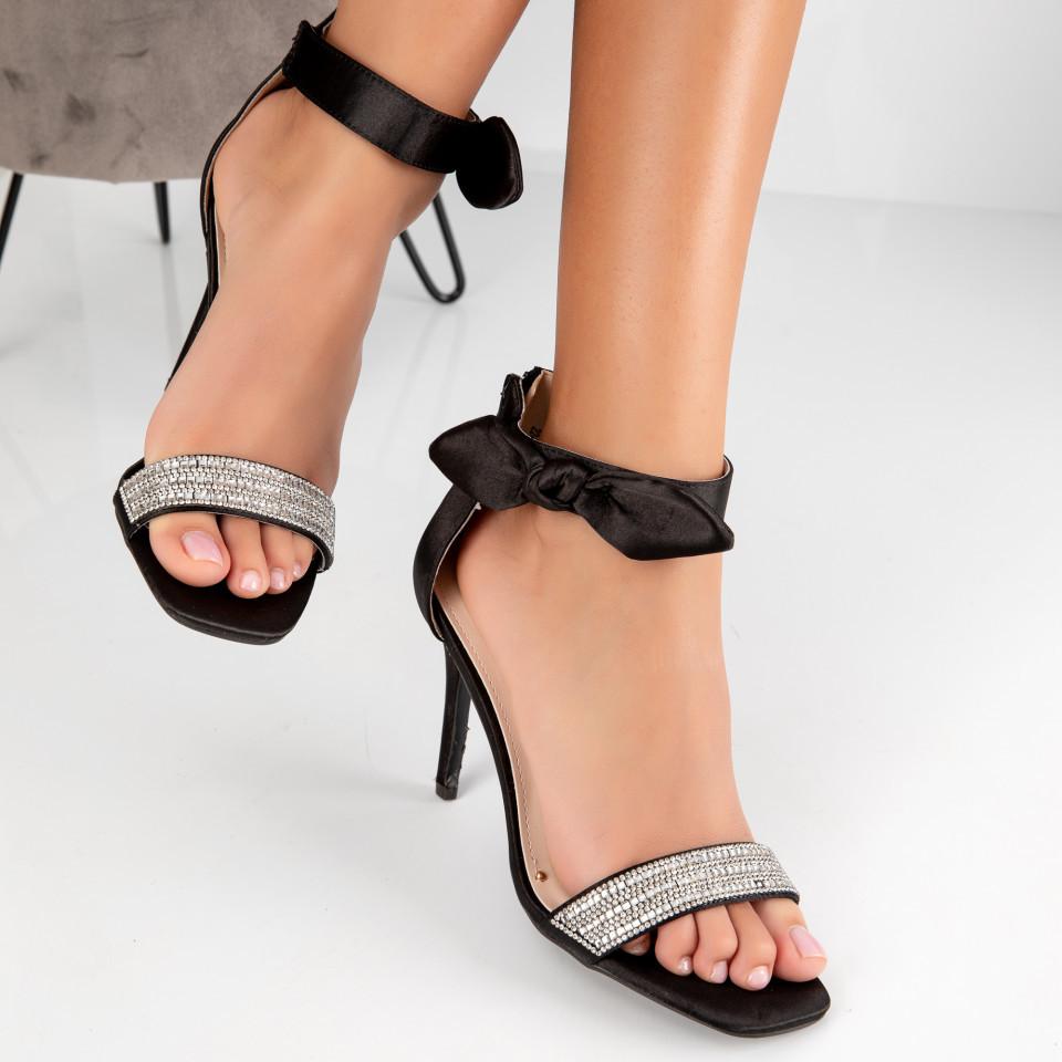 "Sandale ""MireaFashion"" Cod: 2240-1 BLACK (B012)"