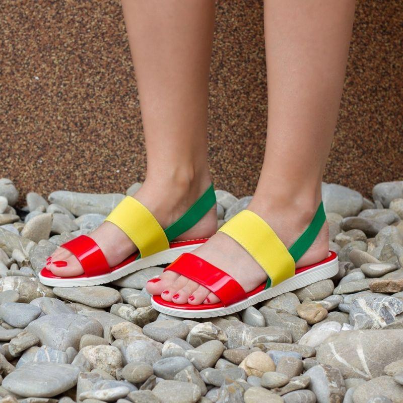 """Sandale """"MireaFashion"""" Cod: 829 Red (O06)"""
