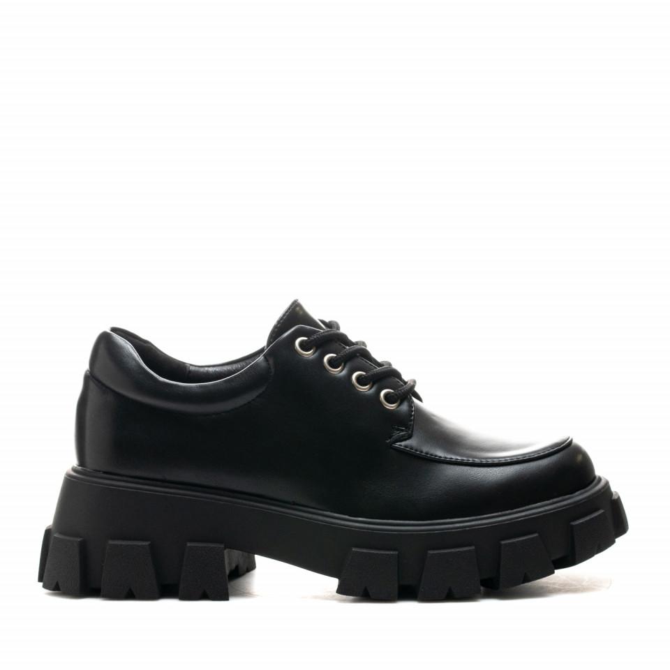 Pantofi Cod: SH1039 BLACK (E012)