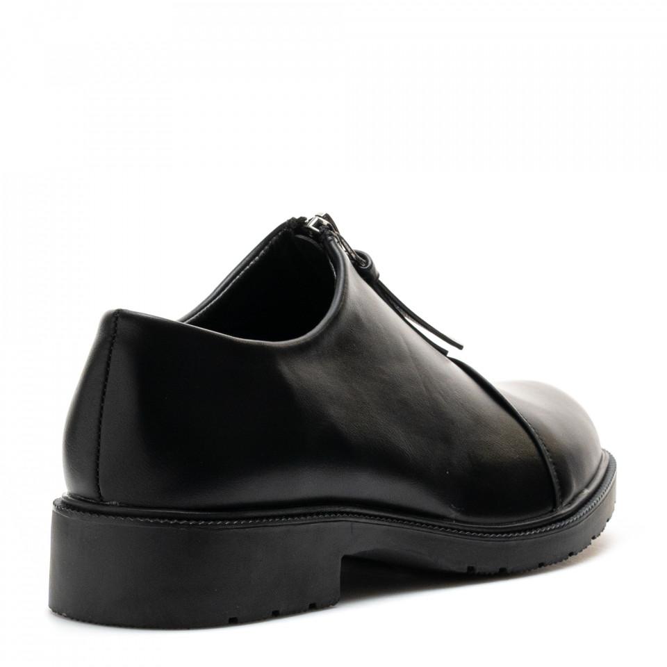 Pantofi Cod: W64-43A BLACK (J01)