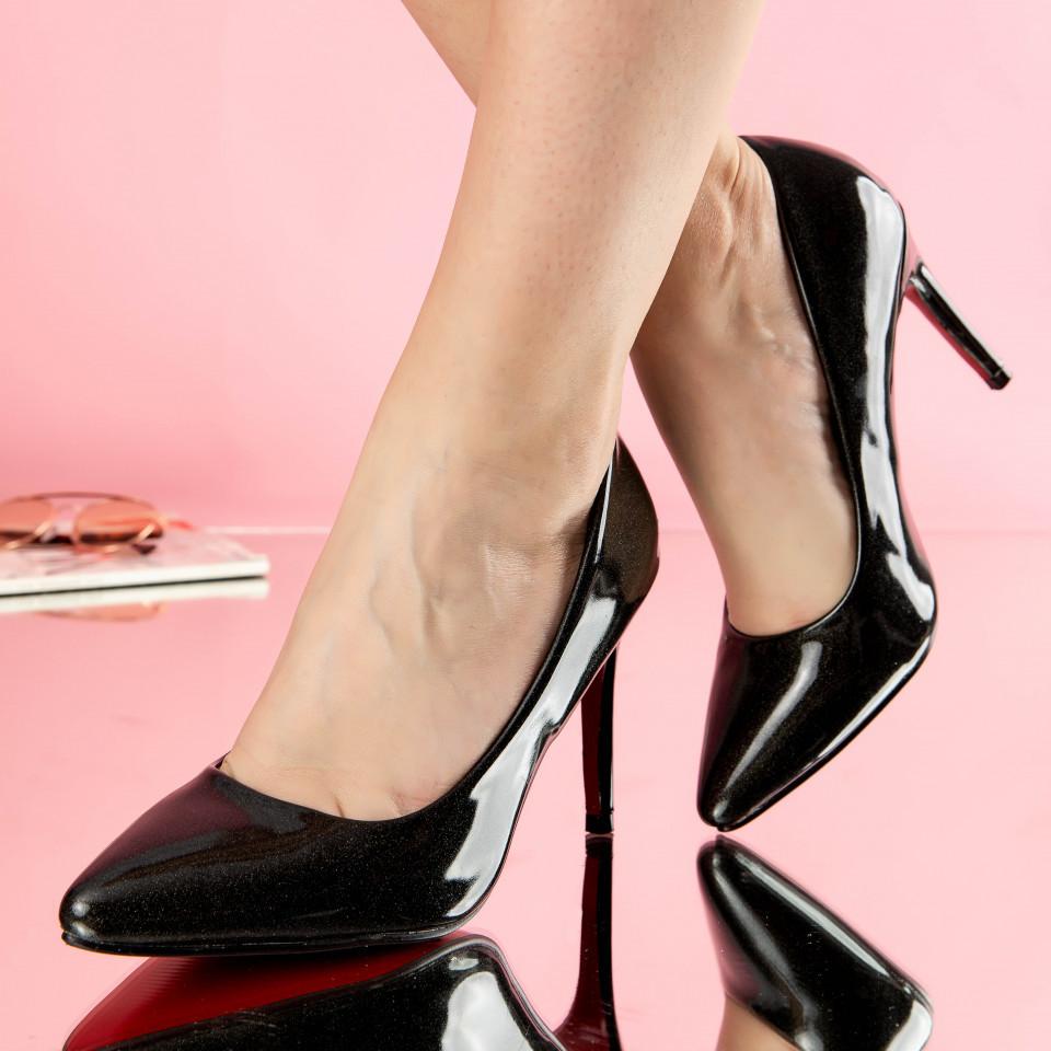 "Pantofi ""MireaFashion"" Cod: 2129 BLACK (C012-O 01)"