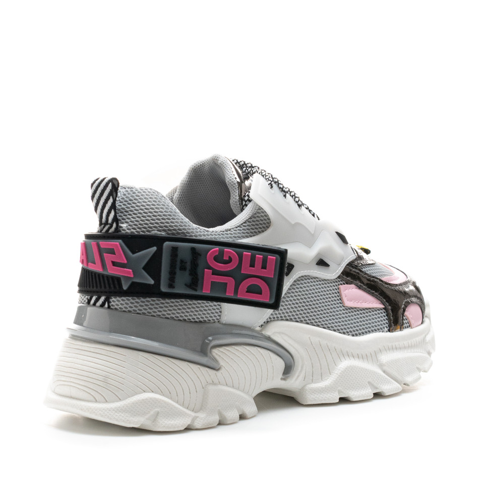 Pantofi Sport Cod: A80-2 GREY (H01)