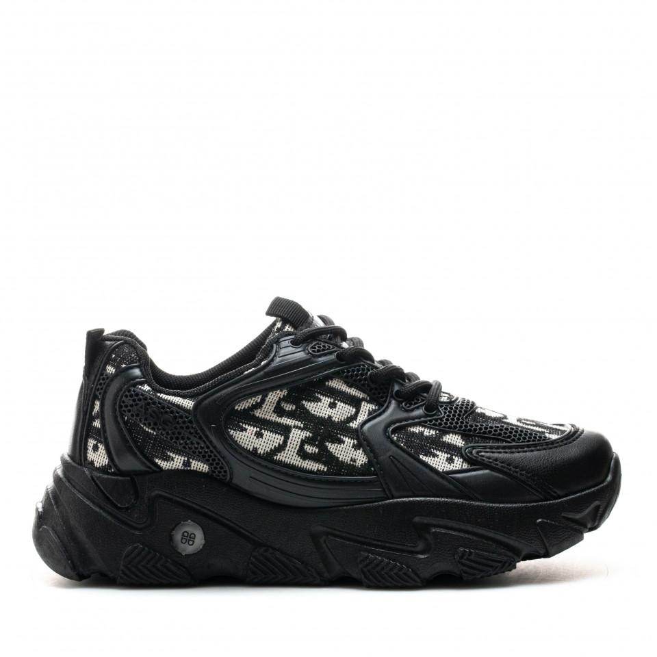 Pantofi Sport Cod: ABC-319 BLACK (C 09)