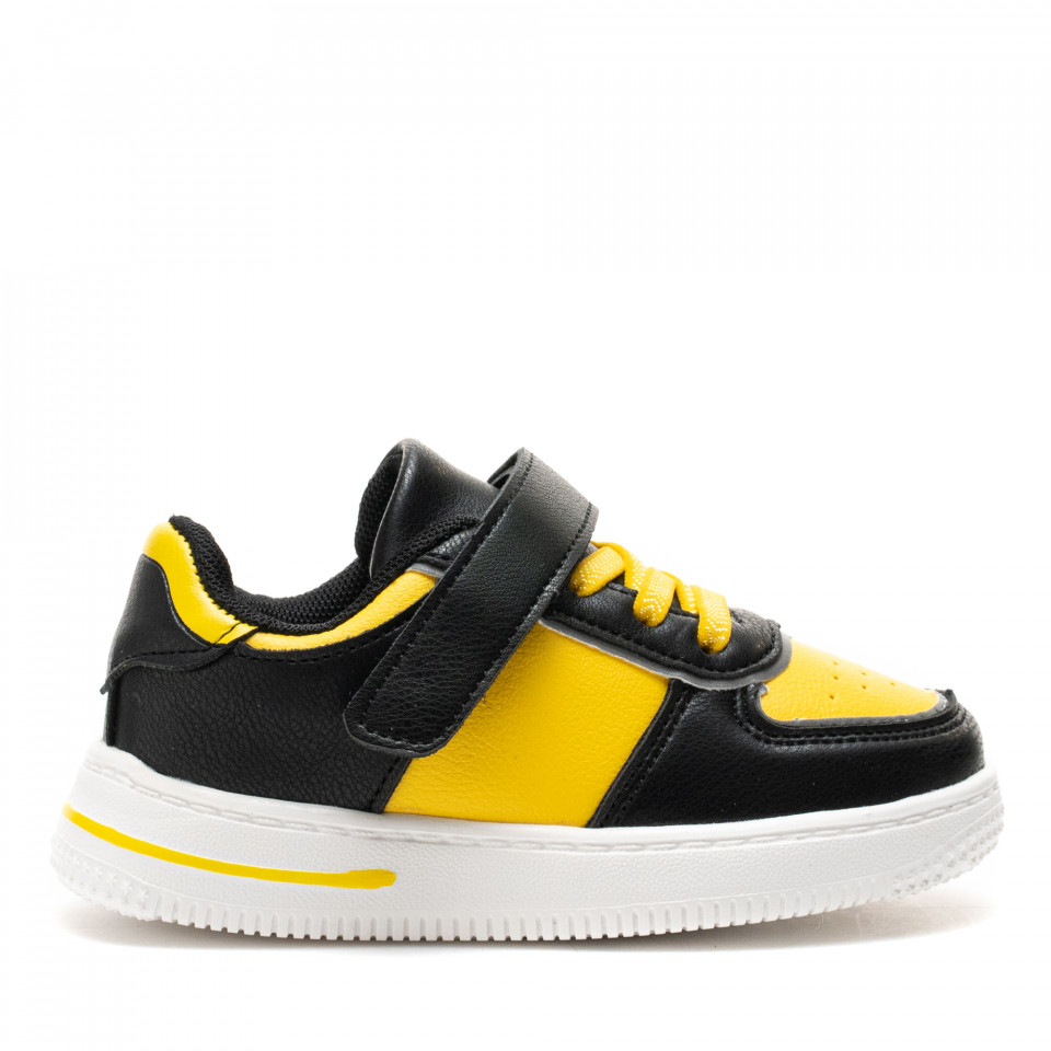 Pantofi Sport Cod: KJ08 BLACK/YELLOW (E01)(J01)