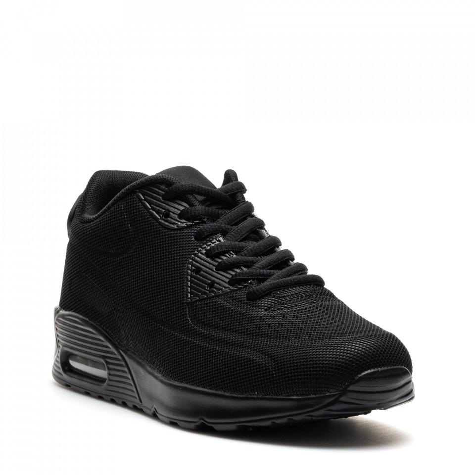 Pantofi Sport Cod: SH-103 ALL BLACK ( I 01)