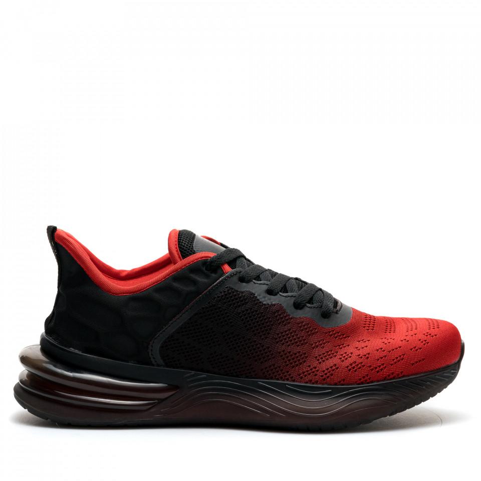 Pantofi Sport Cod: U0539-4 RED/BLACK (I04)