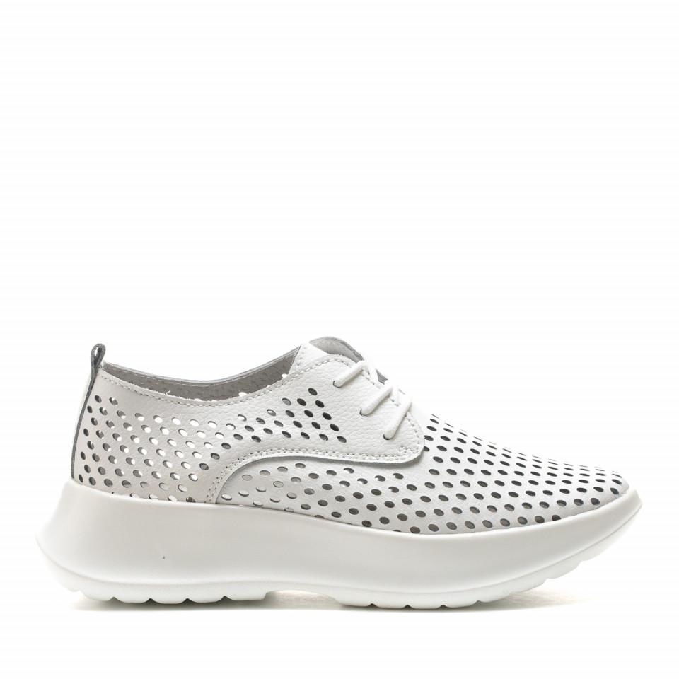 Pantofi Sport Cod: XH-2081 WHITE (E02)
