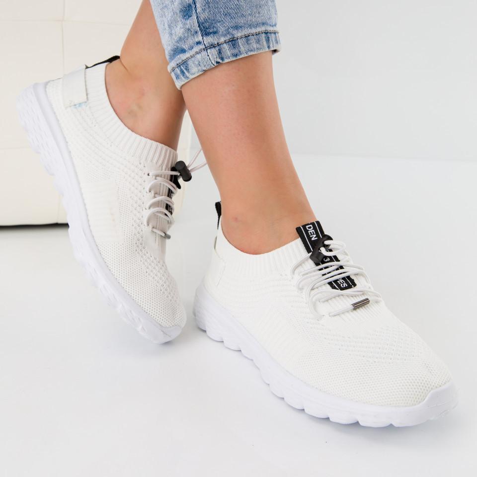 """Pantofi sport """"MireaFashion"""" Cod: 0131 WHITE (K01)"""