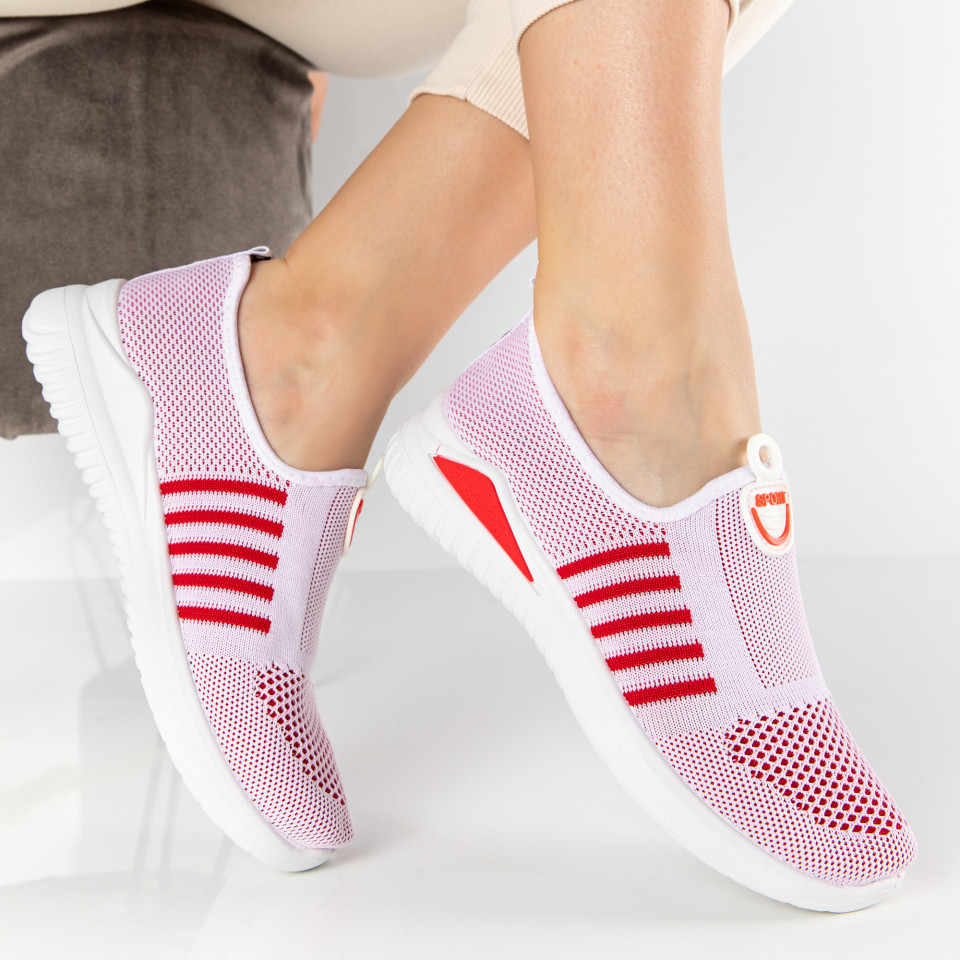 "Pantofi Sport ""MireaFashion"" Cod: 1213 WHITE (C011)(K02)"