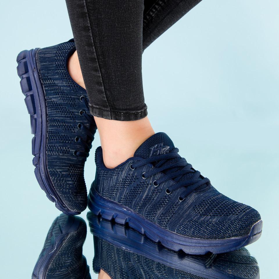 """Pantofi sport """"MireaFashion"""" Cod: B-1 D.BLUE (A01)"""