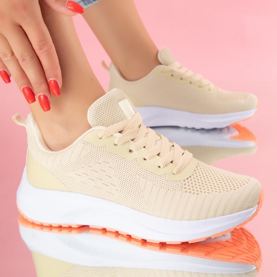 "Pantofi Sport ""MireaFashion"" Cod: BL12-1 BEIGE (C012)"