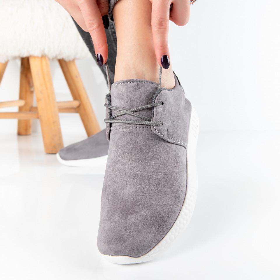 """Pantofi Sport """"MireaFashion"""" Cod: W818 GREY (B03)"""