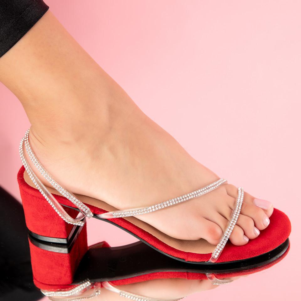 "Sandale ""MireaFashion"" Cod: PH8052-2 RED (A01)"