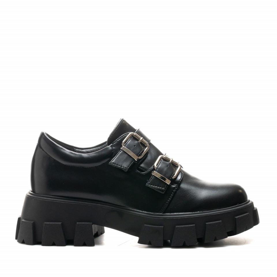 Pantofi Cod: SH1051 BLACK (C 010)