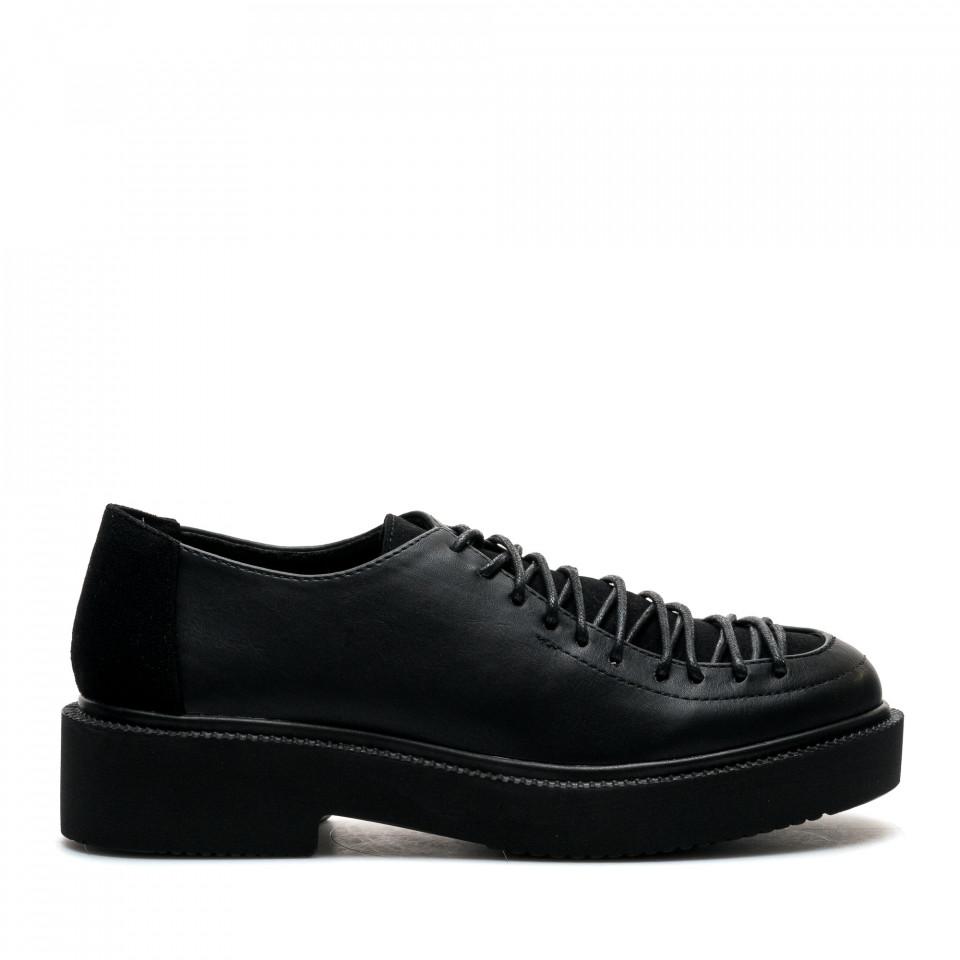 Pantofi Cod: XH-03 BLACK (D04)