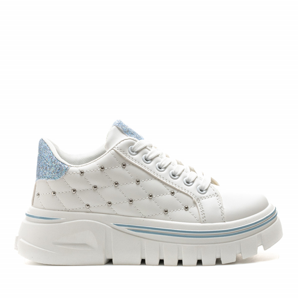 Pantofi Sport Cod: 2055 BLUE (F04)