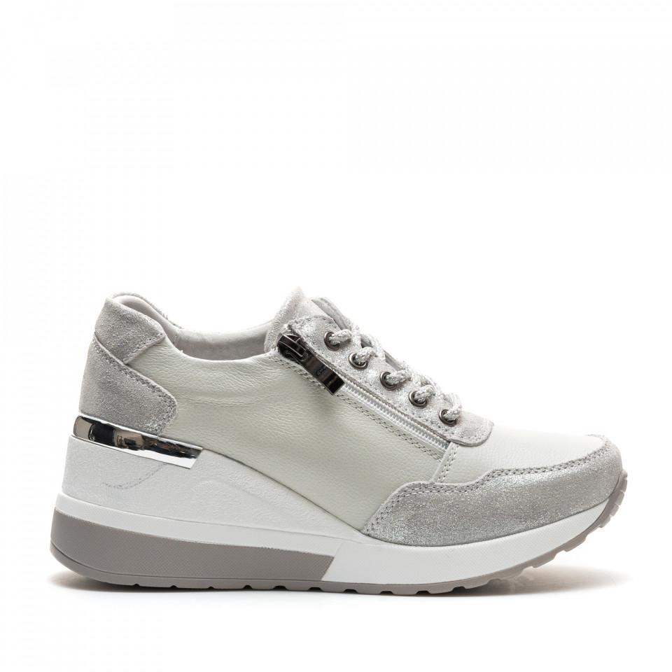 Pantofi Sport Cod: ZT-04 SILVER (C 010)