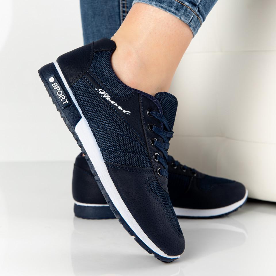 """Pantofi Sport """"MireaFashion"""" Cod: 828-2 BLUE (Q 06)"""