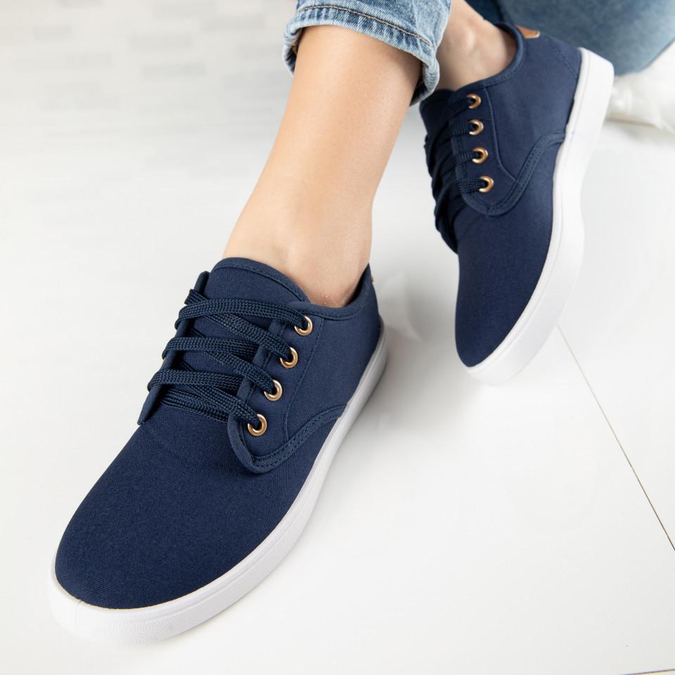 "Pantofi Sport ""MireaFashion"" Cod: A1807-3 NAVY (C 013)"