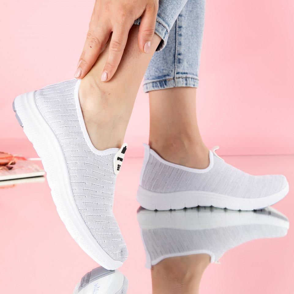 "Pantofi sport ""MireaFashion"" Cod: D-31 WHITE (S14)"