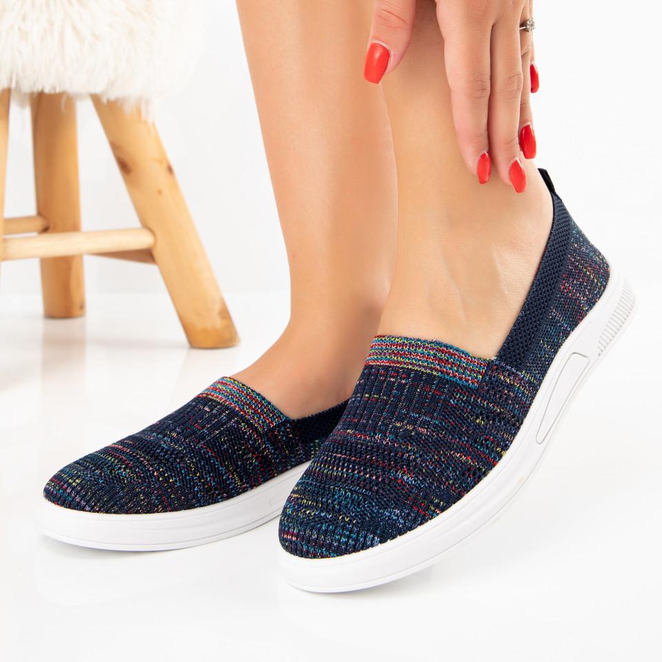 "Pantofi Sport ""MireaFashion"" Cod: H60-3 BLACK/BLUE (B09)"