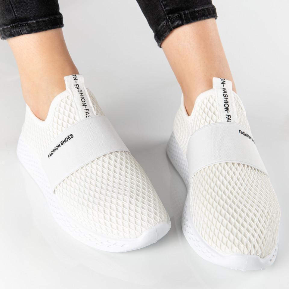 "Pantofi Sport ""MireaFashion"" Cod: SJ1972-2 WHITE (B014)"