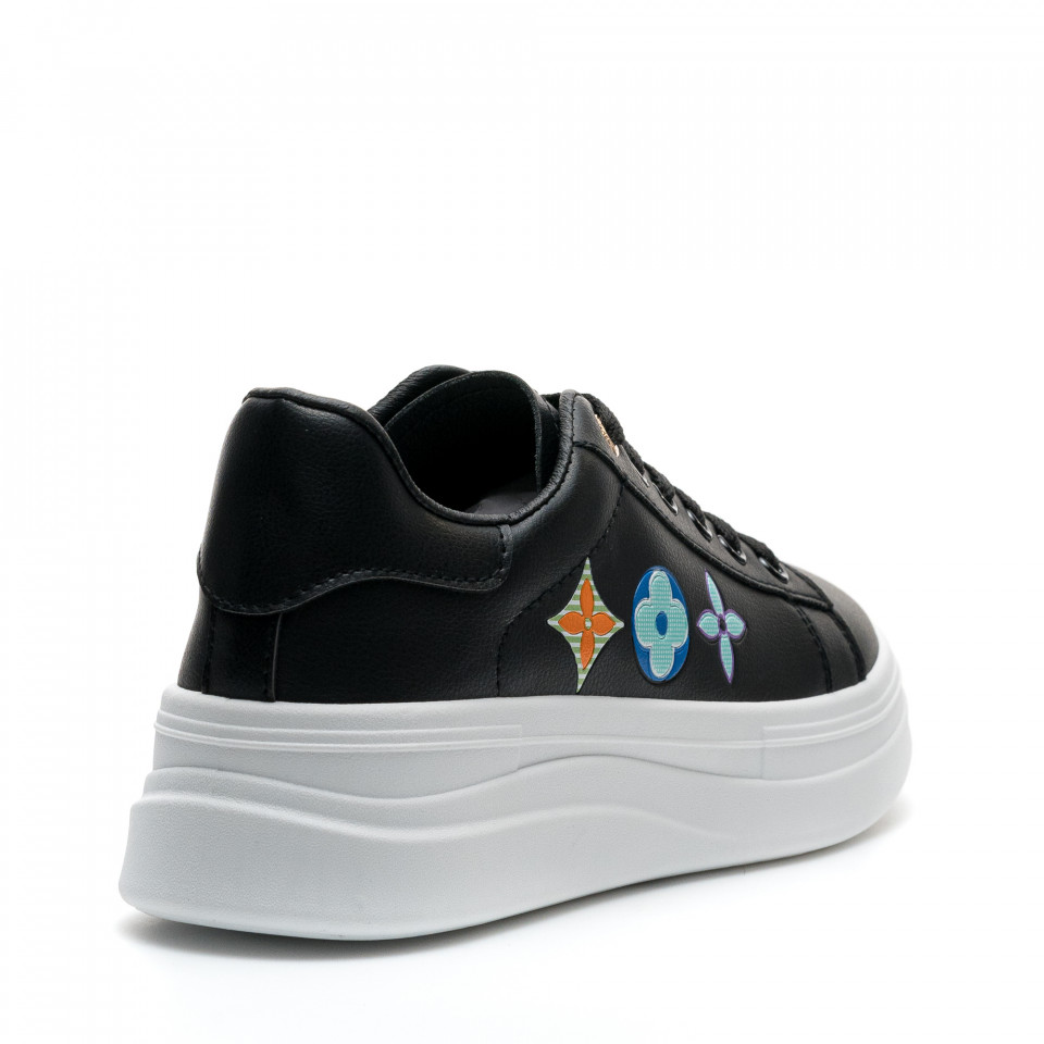 Pantofi Sport Cod: 20A19 BLACK (D02)
