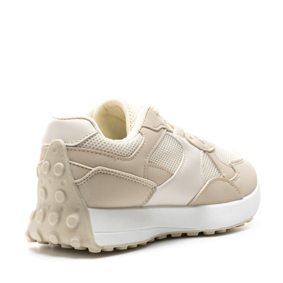 Pantofi Sport Cod: 6116 BEIGE (C 08)