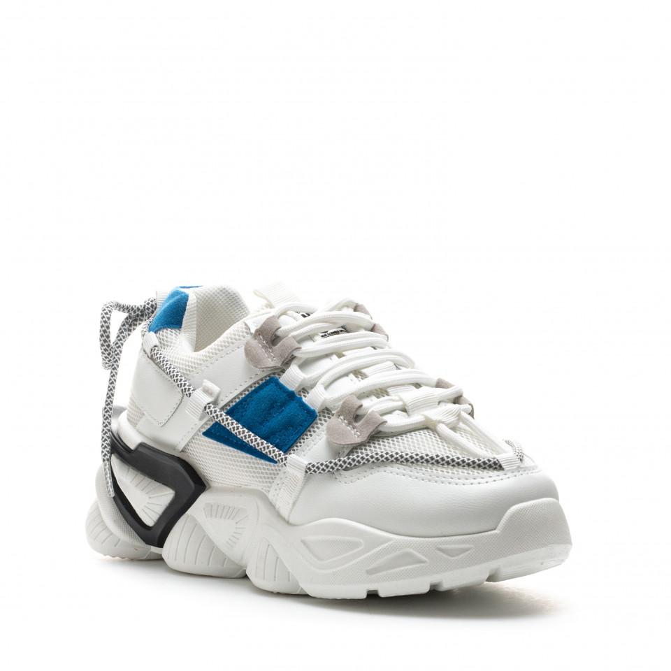 Pantofi Sport Cod: 8807-2 WHITE (C 06)