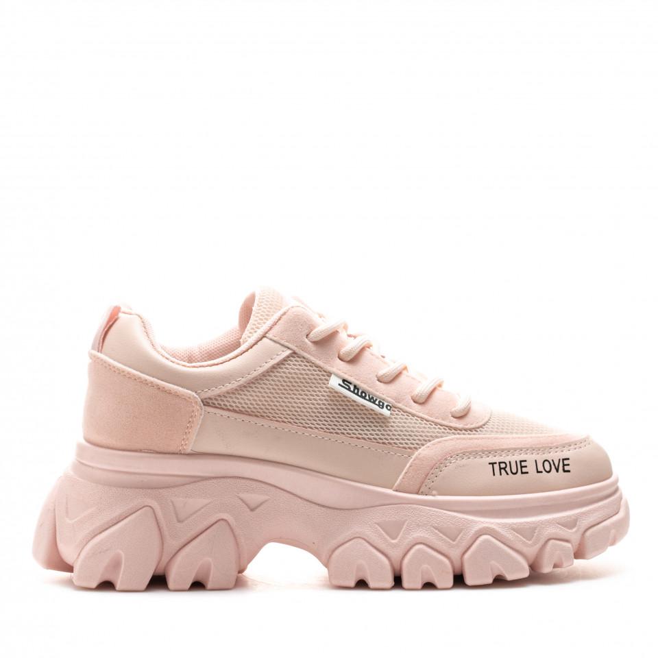 Pantofi Sport Cod: F02-5 PINK (F01)