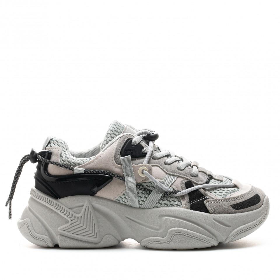 Pantofi Sport Cod: H01 GRAY (E02)