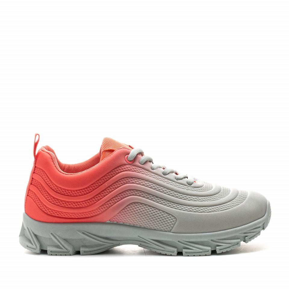 Pantofi Sport Cod: J1836 GREY/RED (C 09)