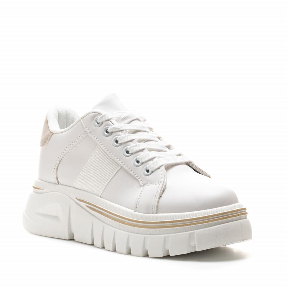 Pantofi Sport Cod: NB382 BEIGE (G04)