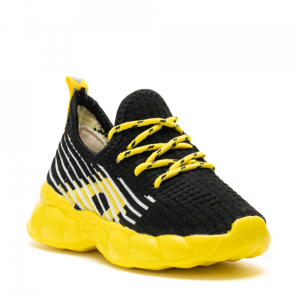 Pantofi Sport Cod: Z-7B YELLOW (E 01)