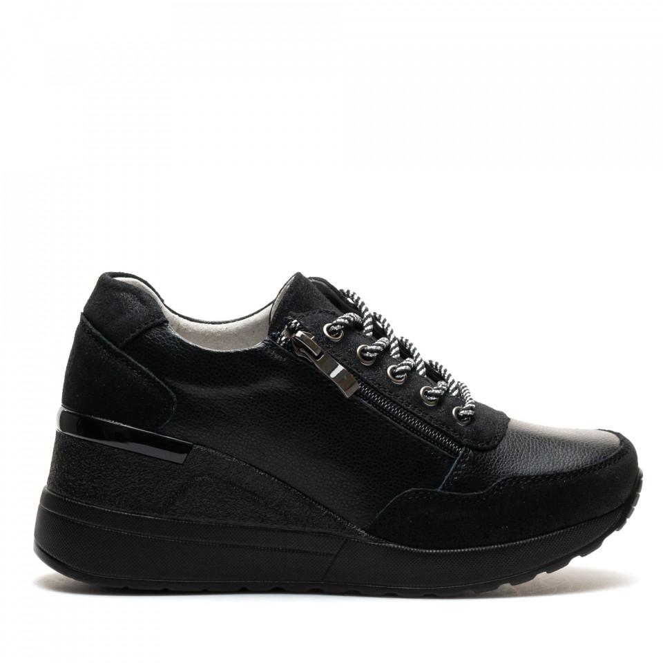 Pantofi Sport Cod: ZT-04 BLACK (D01)
