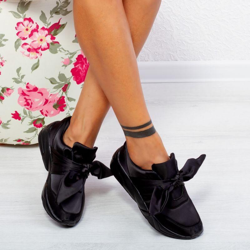 "Pantofi Sport ""MireaFashion"" Cod: 40253 BLACK (B012)"