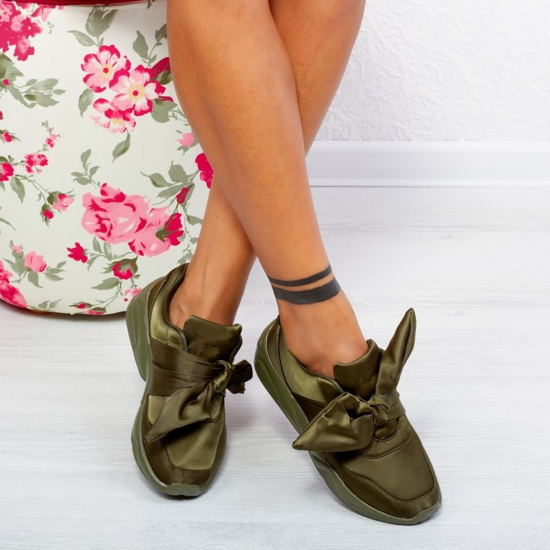 "Pantofi Sport ""MireaFashion"" Cod: 40253 GREEN (C013)"