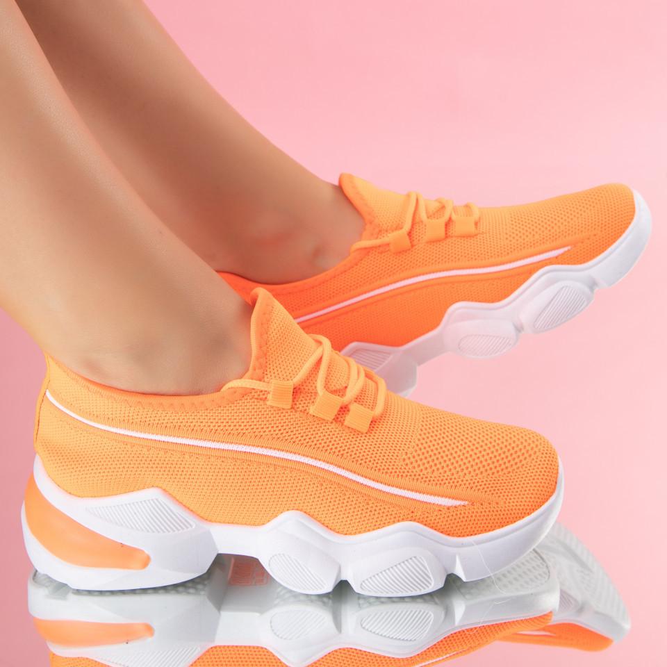 """Pantofi Sport """"MireaFashion"""" Cod: 86001 ORANGE (B012)"""