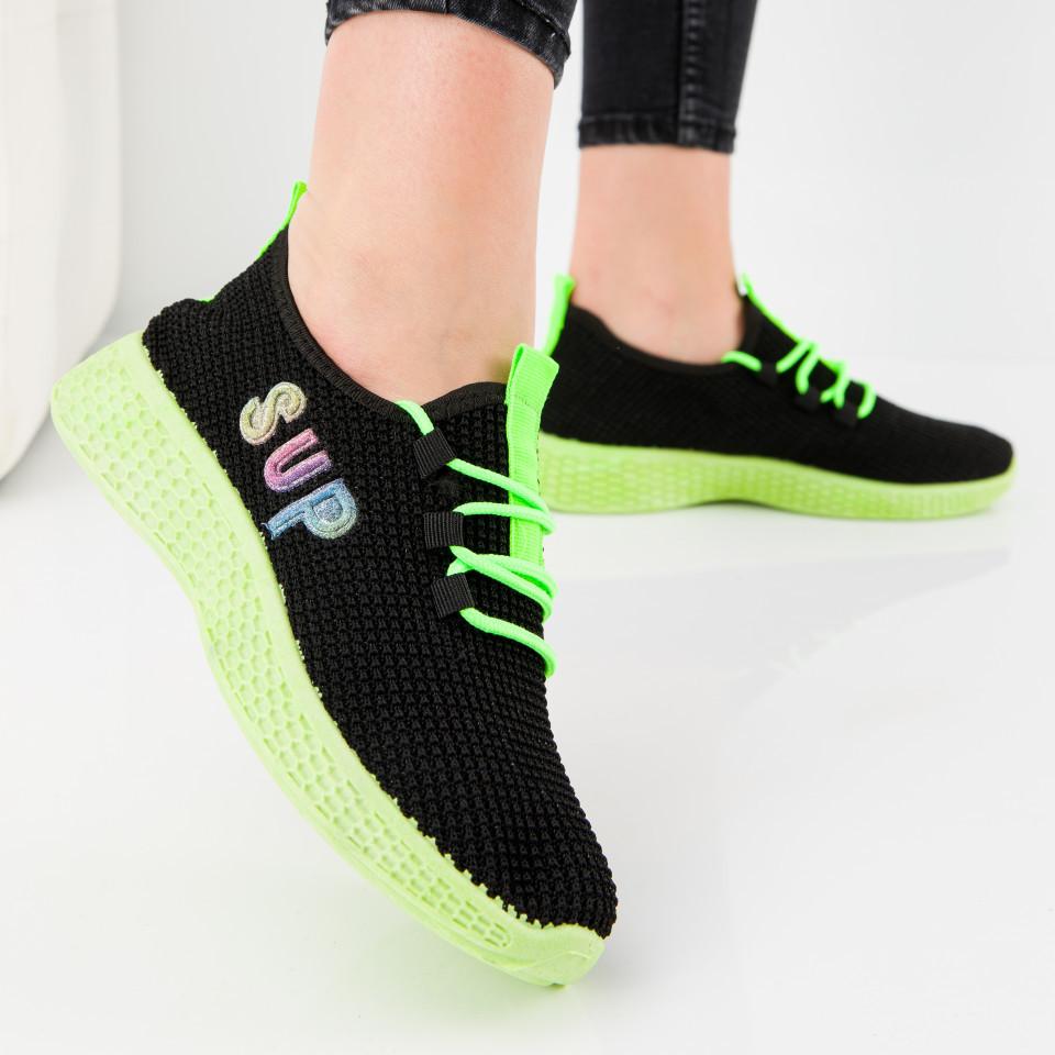 "Pantofi sport ""MireaFashion"" Cod: HQ-36-173 BLACK (P03)"
