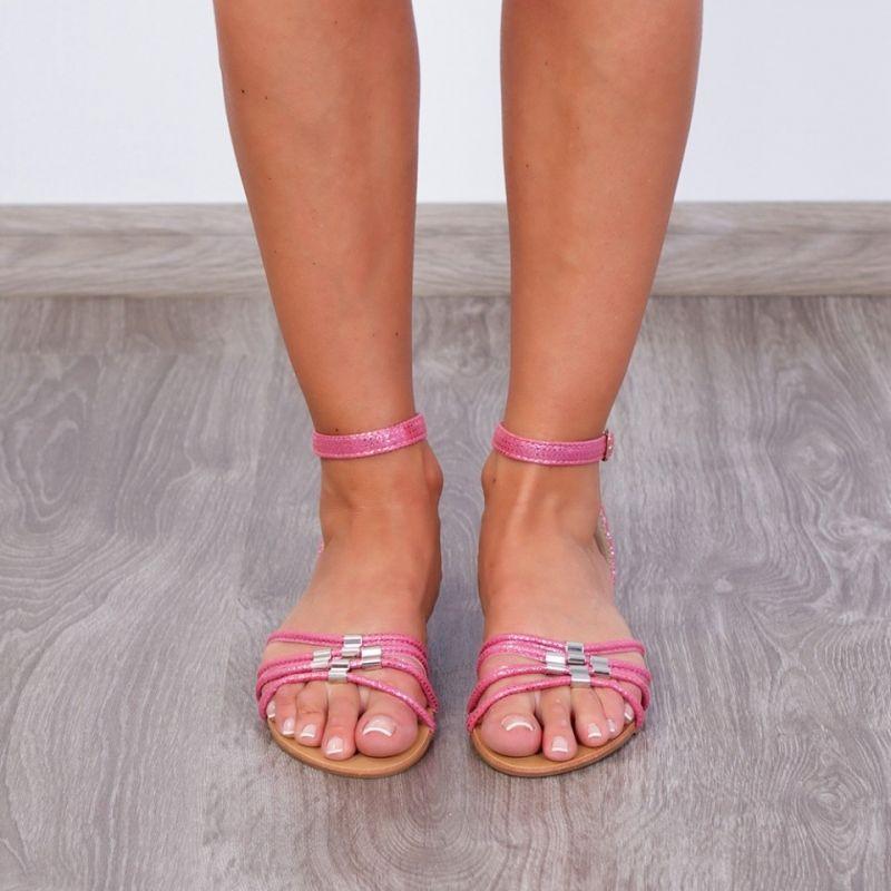 "Sandale ""MireaFashion"" Cod: 3160-A2 Pink (C 01)"