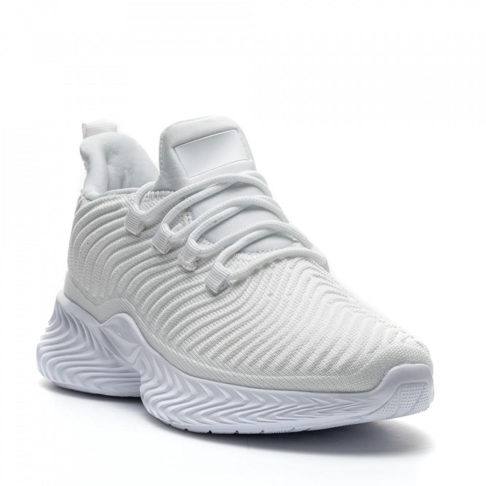 Pantofi Sport Cod: D8305-2 WHITE (I 01)