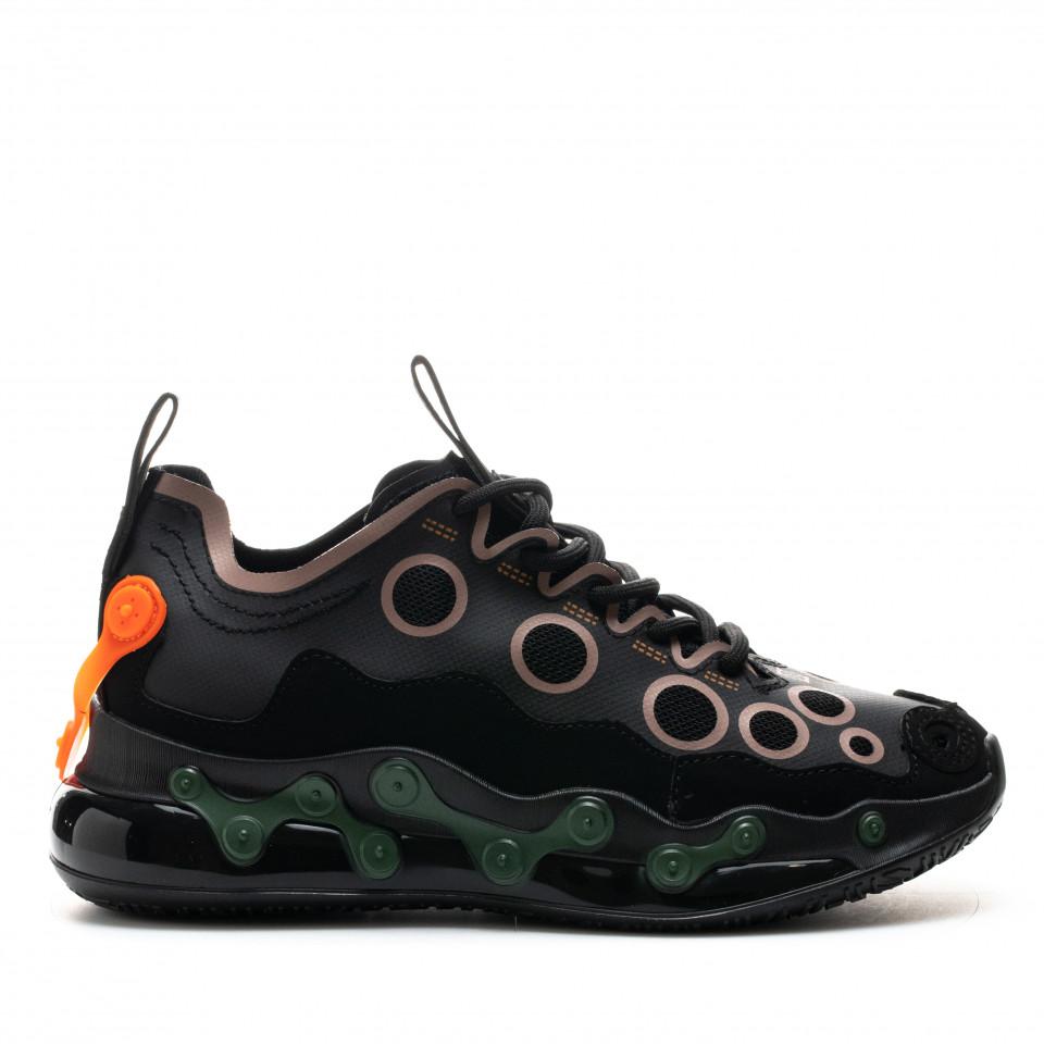 Pantofi Sport Cod: H19-1 BLACK/ORANGE (H04)